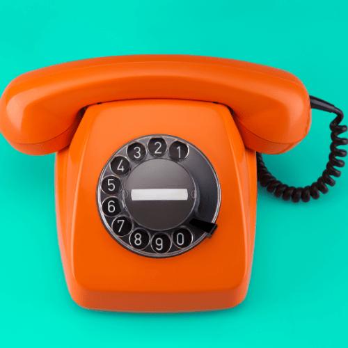 landline - 65% of people prefer