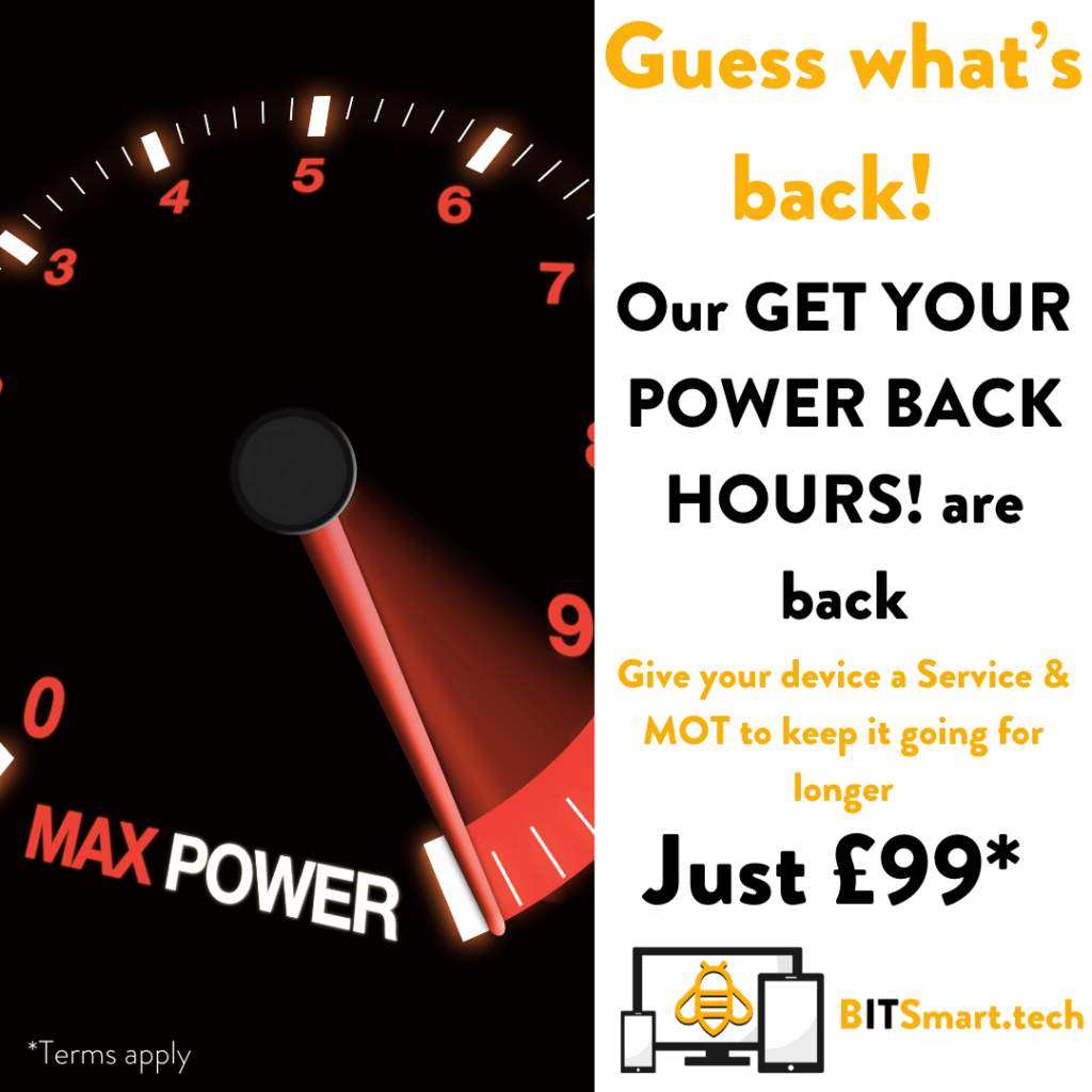 Get your power back hours